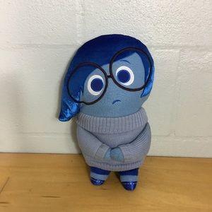 Disney Inside Out Sadness Stuffed Animal Plushie